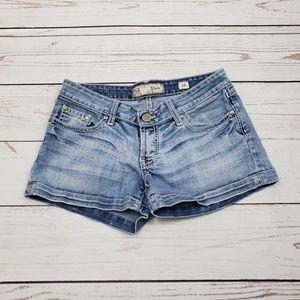 BKE Buckle Brand Jean Shorts Size 28   Stella